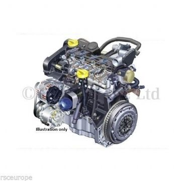 RENAULT 1.5 DCI K9K BARE RECONDITIONED ENGINE